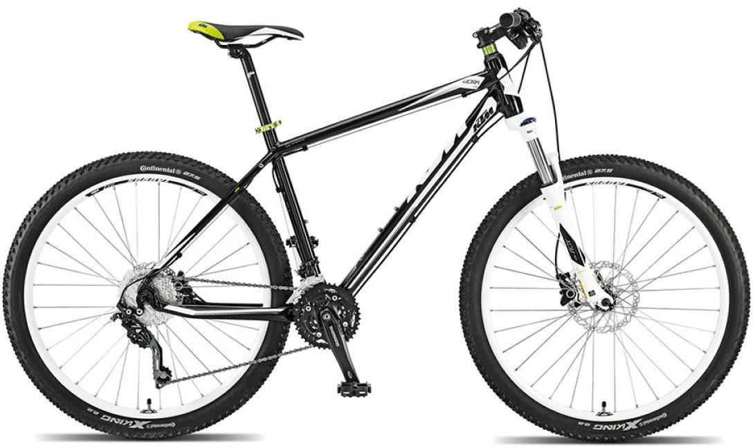 Велосипед горный KTM Ultra Fun 27 2015, цвет: черный, рама 21, колесо 27,5. 251515251515
