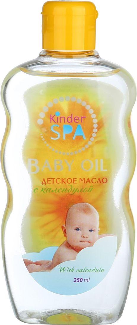 Kinder SPA детское масло с календулой 250 мл10937Kinder SPA детское масло с календулой, мягкое не оставляет жирных пятен. Хорошо впитывается, смягчает кожуребенка. Успокаивающее действие масло помогает малышу при раздражениях и аллергии. Имеет приятный запах. Товар сертифицирован.