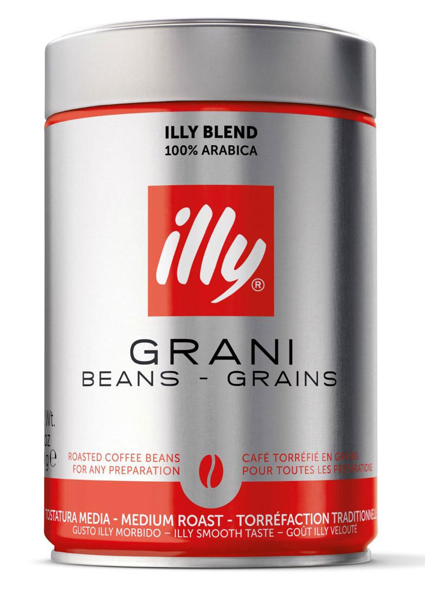 Illy Grani кофе в зернах средней обжарки, 250 г6852 (0724)Отличительный вкус illy: сбалансированный, мягкий и бархатистый, с приятной сладостью, нотами фруктов, карамели и шоколада. Подходит для любых способов приготовления.Кофе: мифы и факты. Статья OZON Гид