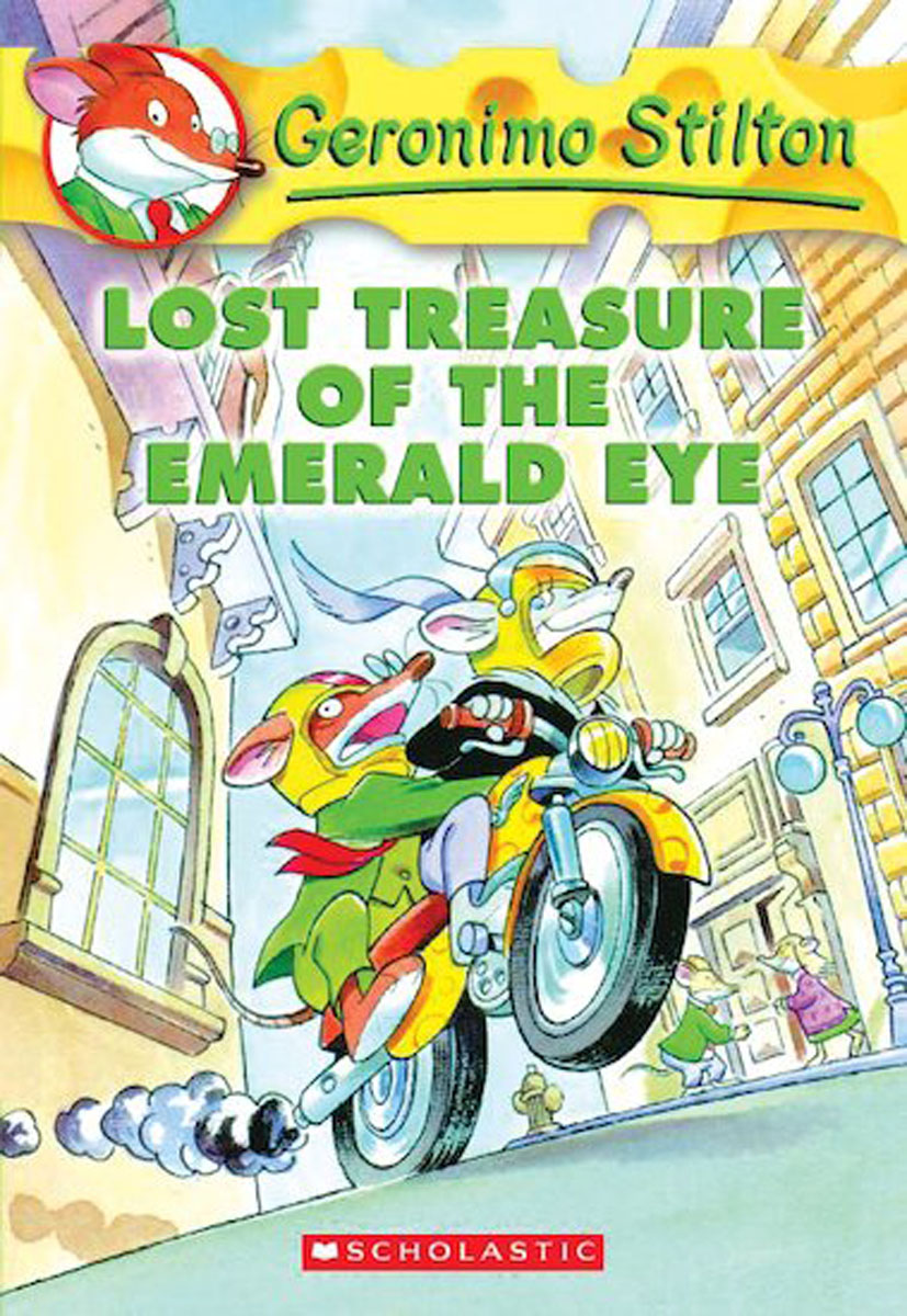 Geronimo Stilton #1: Lost Treasure of the Emerald Eye цена 2017