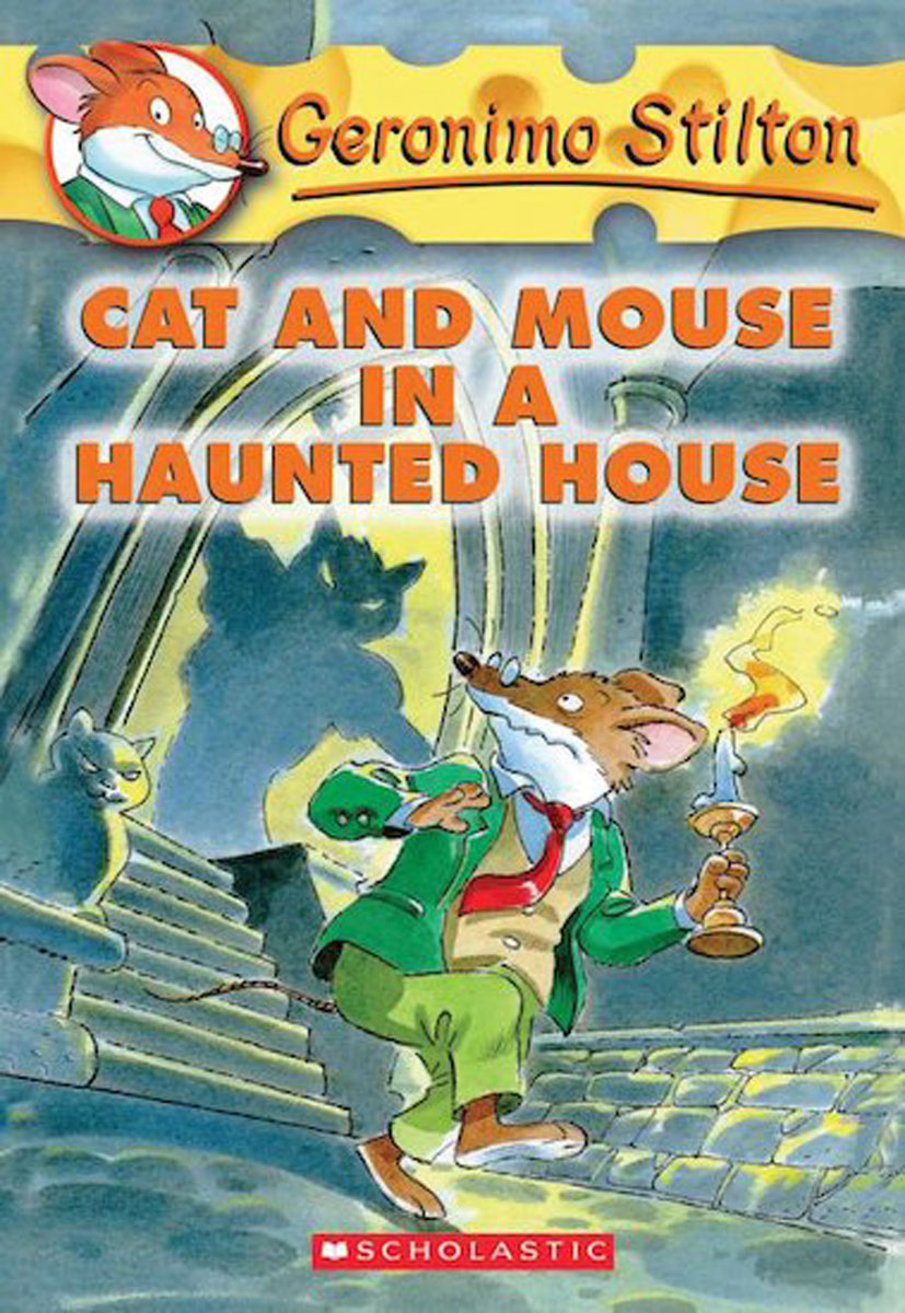Geronimo Stilton #3: Cat and Mouse in a Haunted House футболка для беременных printio мишка me to you