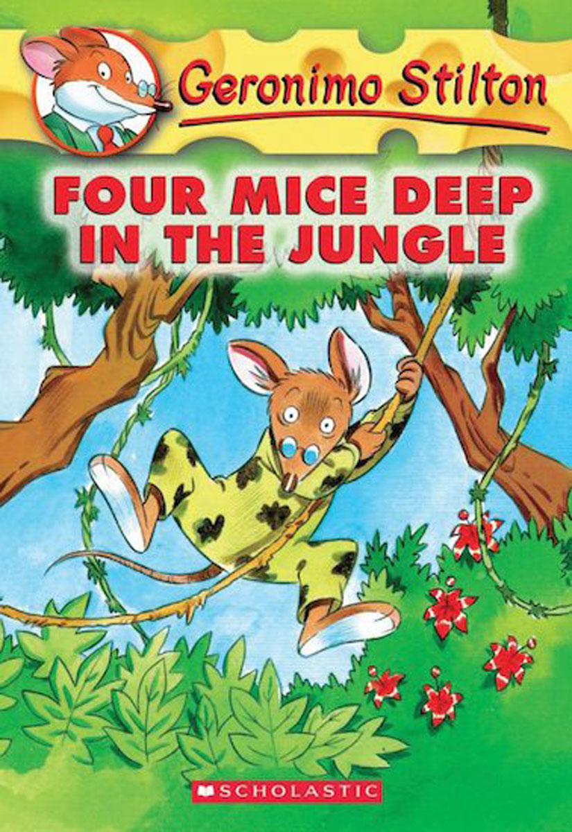 Geronimo Stilton #5: Four Mice Deep in the Jungle like bug juice on a burger