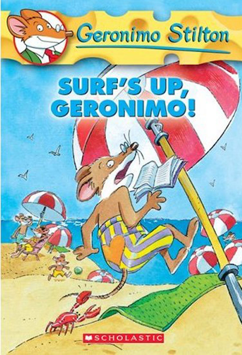 Geronimo Stilton #20: Surf's Up Geronimo! i found you