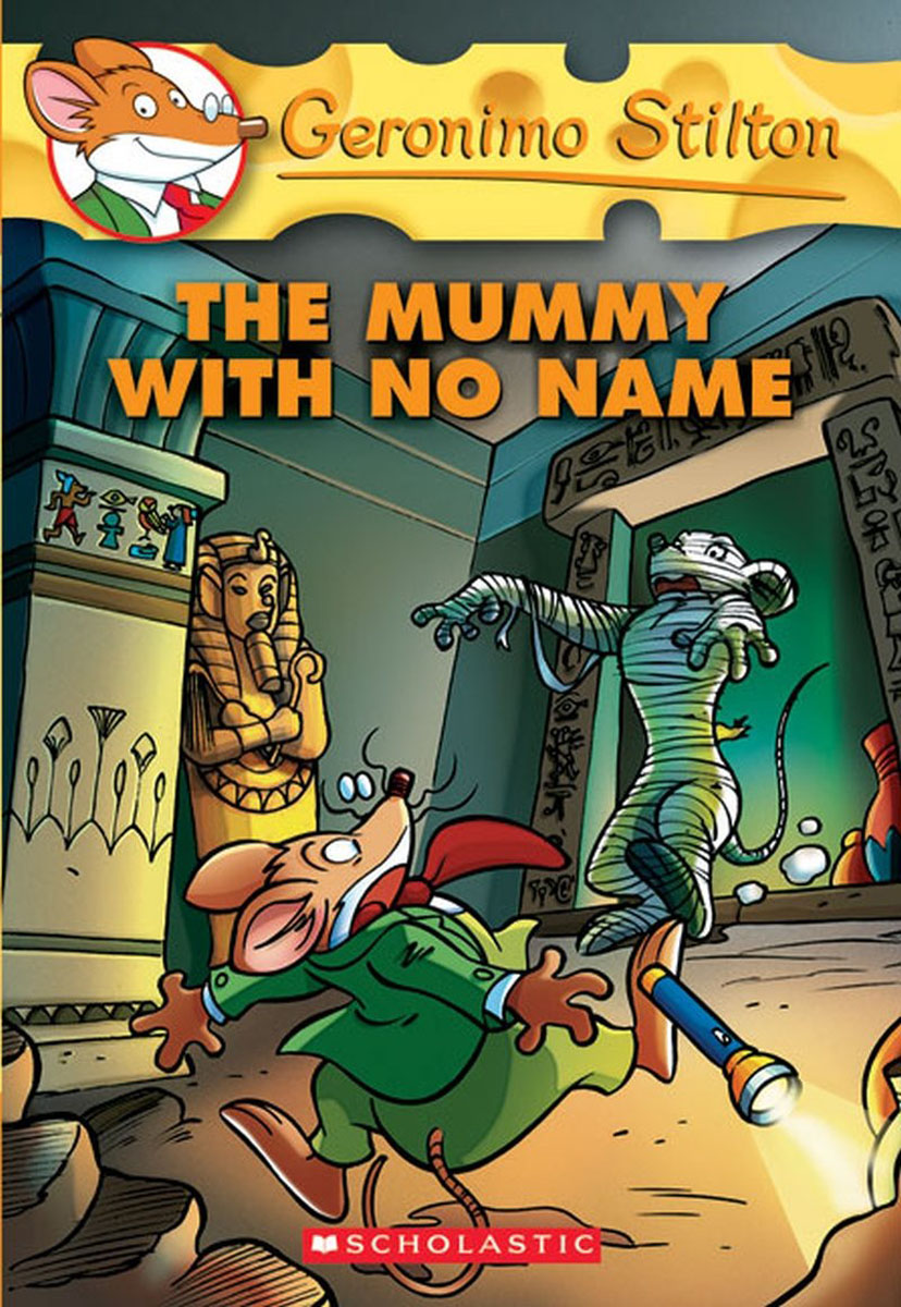 Geronimo Stilton #26: The Mummy with No Name the halloween tree
