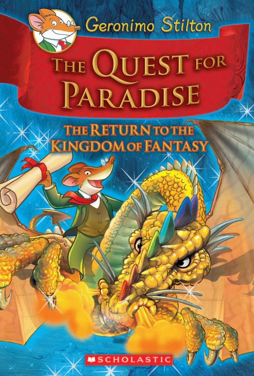 Geronimo Stilton and the Kingdom of Fantasy #2: The Quest for Paradise stalking the green fairy page 2