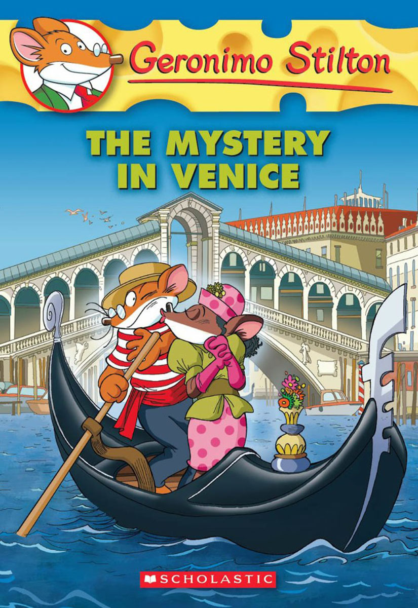 Geronimo Stilton #48: The Mystery in Venice 30pcs in one postcard take a walk on the go venice italy christmas postcards greeting birthday message cards 10 2x14 2cm