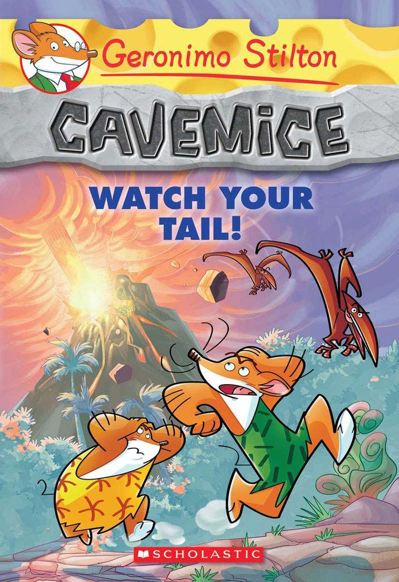 Geronimo Stilton Cavemice #2: Watch Your Tail! the sky is falling – understanding