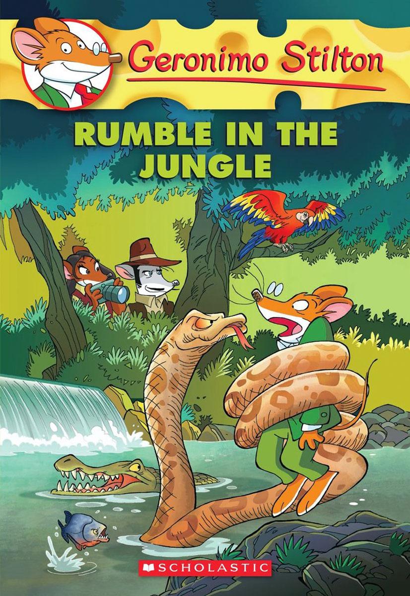 Geronimo Stilton #53: Rumble in the Jungle stolen