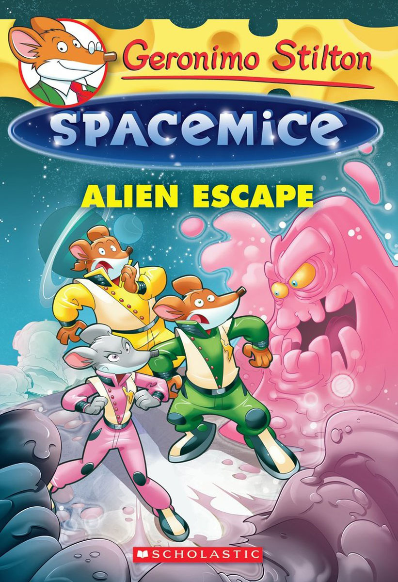 Geronimo Stilton Spacemice #1: Alien Escape seeing things as they are