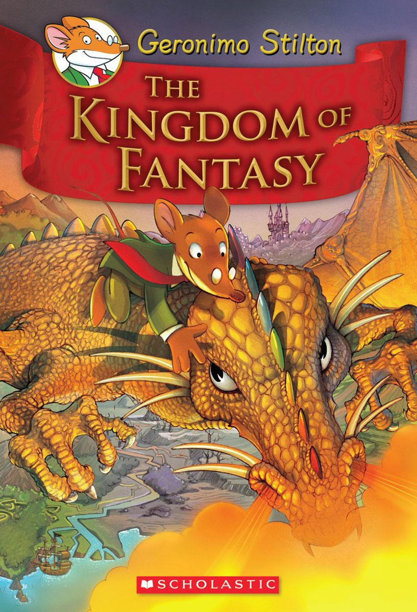 Geronimo Stilton and the Kingdom of Fantasy #1: The Kingdom of Fantasy i never knew that about ireland