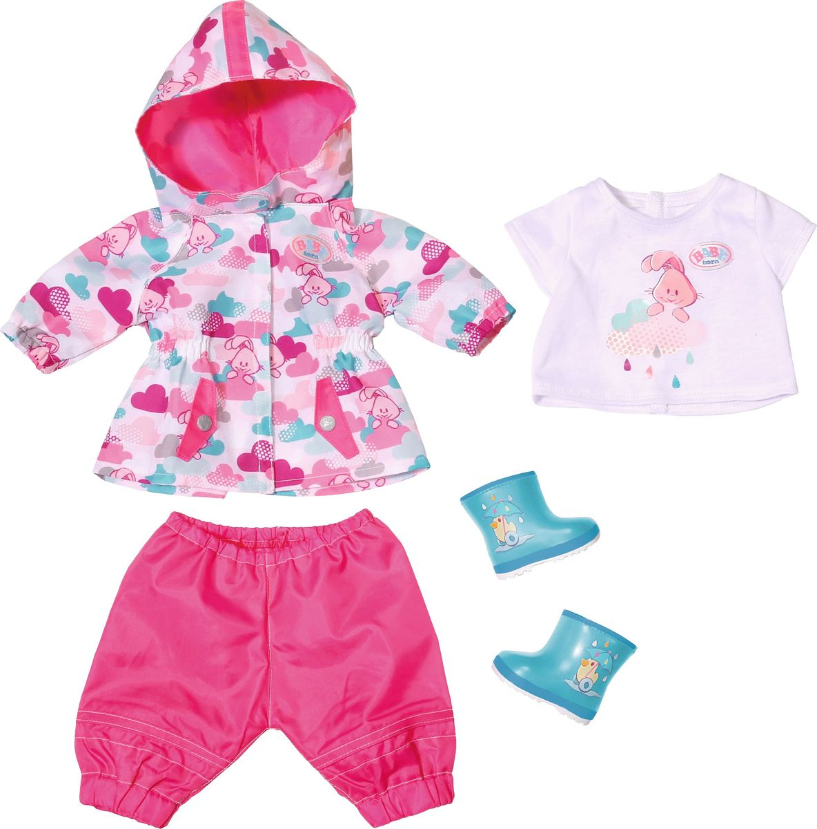 Baby Born Одежда для дождливой погоды baby born одежда для дождливой погоды