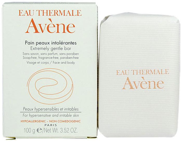 Avene Мыло для сверхчувствительной кожи, 100 г лосьон для лица avene для сверхчувствительной кожи 200 мл очищающий