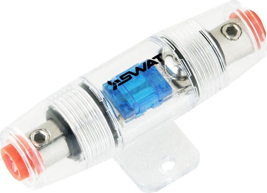 Предохранитель SWAT miniANL 60А, в корпусе 4GA-> 4GASwat FH-MANL01Монтаж акустической системы, независимо от ее сложности, невозможен без специальных кабелей и сопутствующих товаров. Важно купитькачественные изделия такого типа, чтобы гарантировать беспроблемное функционирование оборудования.Вход: 4/8Ga - выход: 4/8Ga Винтовые зажимы кабелейПереходные втулки в комплектеВлагозащищенная конструкцияПокрытие - никель
