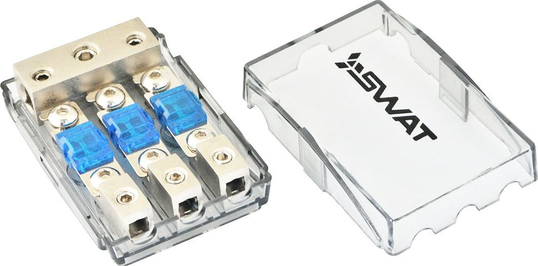 Дистрибьютор питания SWAT 0GAx1+4GAх2-> 8GAx3O00001225автоаксессуары для подключения коммутация в автомобиле