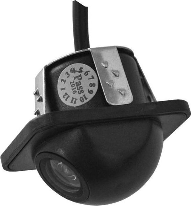 Камера автомобильная SWAT Camera VDC-414, для подключения к монитору, универсальнаяSWAT VDC-414Универсальная автомобильная камера SWAT Camera VDC-414 предназначена для подключения к монитору.Особенности: Тип установки: врезная; Тип матрицы: CMOS; Размер матрицы: 1/3; Разрешение видео: 648 x 488 пикс; Разрешение видео (ТВЛ): 480; Угол обзора: 170°; Система цветности: NTSC; Минимальное освещение: 0.2 люкс; Режим изображения: зеркальное; Дополнительно: парковочные метки влагозащита / IP67.
