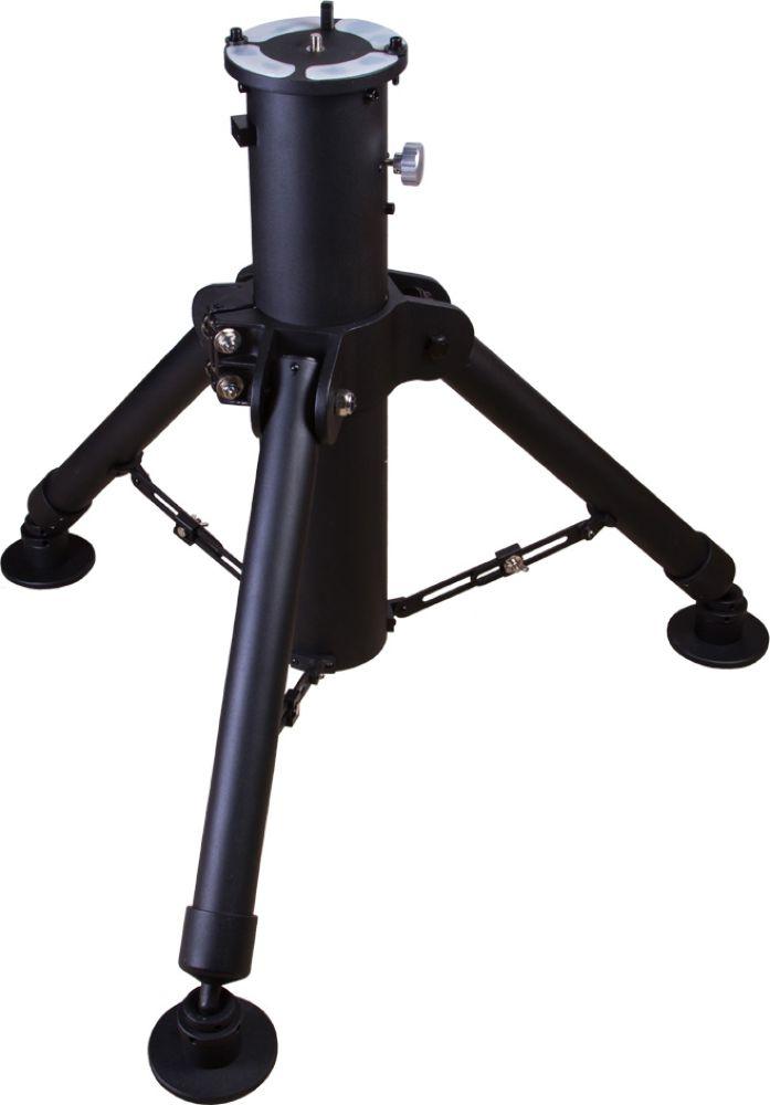 Sky-Watcher EQ8 колонна для монтировок70136Колонна Sky-Watcher может быть использована только с экваториальными монтировками EQ8. Она выдерживает вес до 50 кг, имеет прочную и надежную конструкцию и может быть установлена даже на неровную поверхность. Большой опорный диаметр монтировки позволяет достичь максимальной устойчивости даже при использовании с тяжелыми оптическими трубами. Высоту каждой опоры можно регулировать индивидуально. Монтировка устанавливается на специальный штифт и фиксируется винтами крепления. Колонна изготовлена из алюминия. Технические характеристики: Материал: алюминий.Максимальная нагрузка, кг 50.Опорный диаметр, мм 864.Цвет: черный.Высота, мм 800–1100. Вес, кг 29,4.