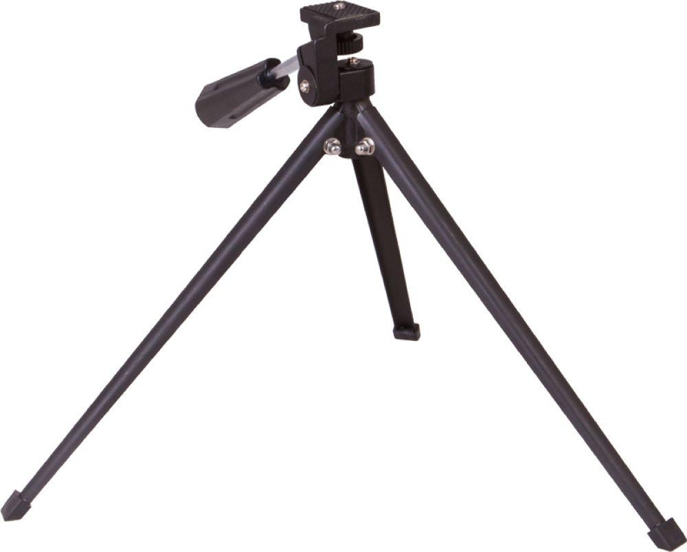 Bresser 69821 штатив настольный 240 мм69821Настольный штатив Bresser можно использовать для фотографирования и стационарных наблюдений живой природы или спортивных соревнований. Он небольшой и будет удобен в хранении и транспортировке. Максимально допустимая нагрузка в 1 кг позволит установить на штатив бинокль, зрительную трубу или фотооборудование. Штатив имеет стандартное резьбовое крепление 1/4 дюйма, поэтому с совместимостью не возникнет никаких проблем. Для установки бинокля может понадобиться дополнительный адаптер.Штатив Bresser имеет несколько степеней свободы. Оптический прибор можно развернуть вертикально или горизонтально. Для перемещения используется специальная ручка.Особенности:Небольшой настольный штатив.Для зрительных труб и биноклей.Максимальная нагрузка – до 1 кг.Стандартная резьба 1/4.Вертикальное и горизонтальное размещение оптических приборов.Управление при помощи ручки.