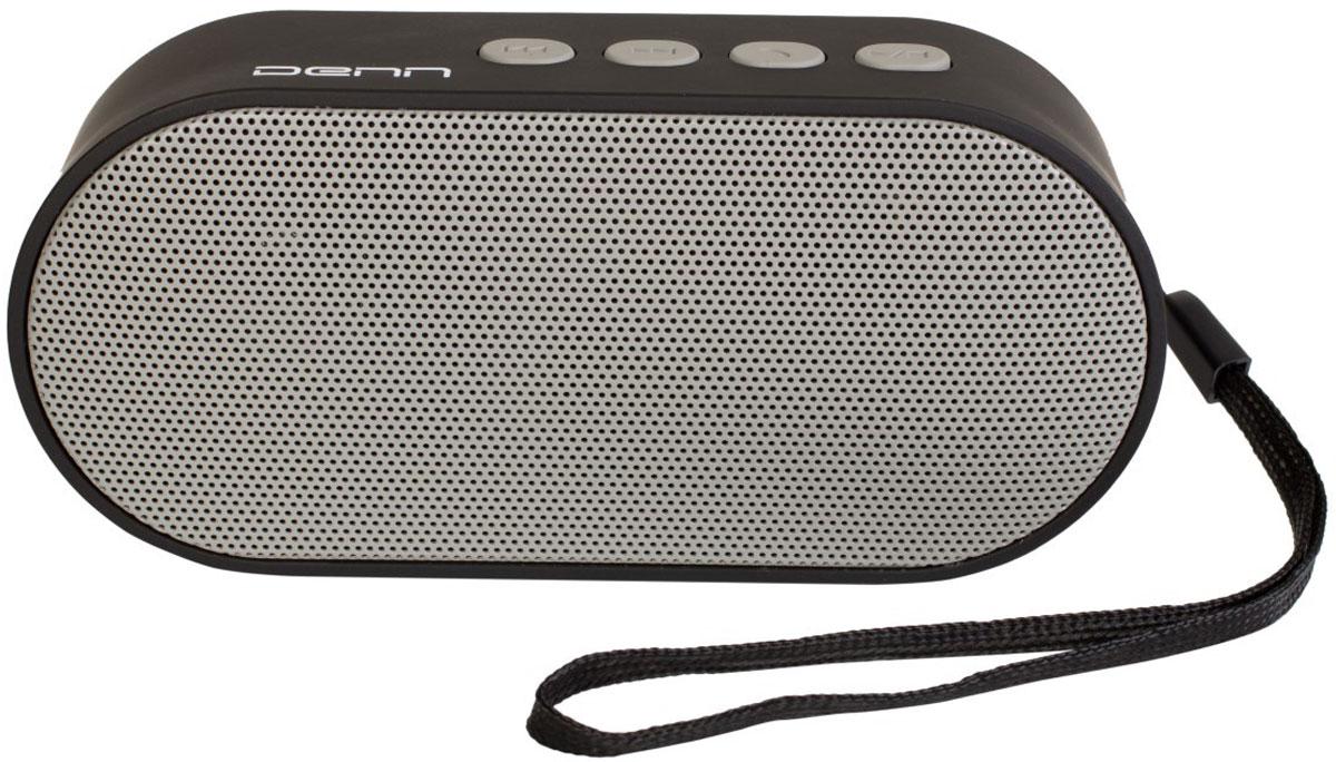 Denn DBS121 беспроводная колонкаDBS121Беспроводная колонка Denn DBS121 в компактном корпусе. Эта модель поддерживает не только воспроизведение звука, но и функции аудиоплеера и радиоприёмника. В режиме воспроизведения аудио колонка работает с внешними источниками, связываясь с ними по Bluetooth или при помощи аудио кабеля 3,5 мм. За трансляцию звука отвечает динамик мощностью 3 Вт. Радиус действия Bluetooth-модуля колонки - до 10 метров. В конструкцию колонки встроены два дополнительных модуля: FM-тюнер и аудиоплеер, работающий от карт памяти microSD. С помощью этих функций колонка может работать без подключения к внешним источникам. Голосовое сопровождение на русском языке с легкостью поможет вам разобраться в управлении колонкой.FM радио: 87.5-108 МГцПоддержка карт памяти miсroSD до 32 ГбОсуществление телефонных звонковОзвучивание номера звонящего на русском языкеЕмкость аккумулятора: 400 мАчКак выбрать портативную колонку. Статья OZON Гид