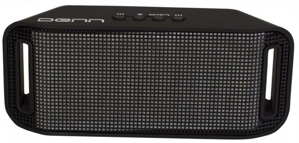 Denn DBS131 беспроводная колонкаDBS131Беспроводная Bluetooth колонка Denn DBS131 с цветомузыкой. До 4 часов непрерывного воспроизведения музыки со светом. Выберите свой режим подсветки из пяти различных вариантов. 3 Вт мощности, встроенный спикерфон, поддержка воспроизведения с карт памяти microSD, USB флешек, FM-радио - все в ваших руках! Голосовое сопровождение на русском языке с легкостью поможет вам разобраться в управлении колонкой.Наличие подсветки: 4-х цветнаяFM радио: 87.5-108 МГцОсуществление телефонных звонковОзвучивание номера звонящего на русском языкеПоддержка карт памяти miсroSD до 32 ГбЕмкость аккумулятора: 400 мАчВремя зарядки аккумулятора: 3 ч