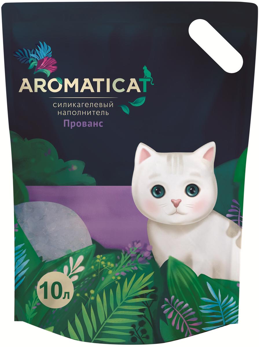 Силикагелевый наполнитель Aromaticat  Прованс , гигиенический, 10 л - Наполнители и туалетные принадлежности