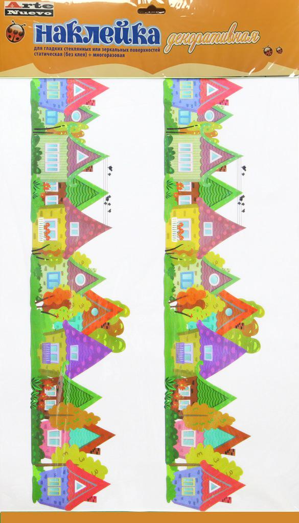 Наклейка декоративная Arte Nuevo, для гладких стеклянных или зеркальных поверхностей, 33 х 56 см. 2DN-WM-2s2DN-WM-2s