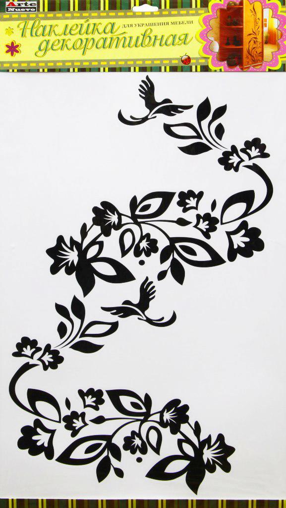 Наклейка декоративная Arte Nuevo, для мебели, 33 х 60см. DN-KF-2DN-KF-2