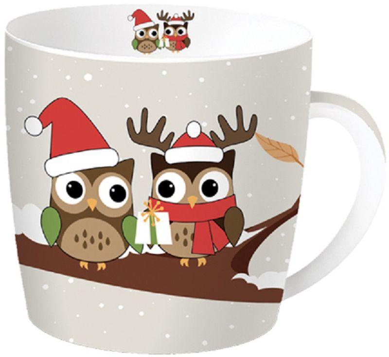 Кружка Easy Life Сова на ветке, 350 мл217CHBRКружка в подарочной новогодней упаковке прекрасный подарок для родных и близких. Удобная кружка с оригинальным дизайном - совы на ветке.Упакована в подарочную металлическую банку.