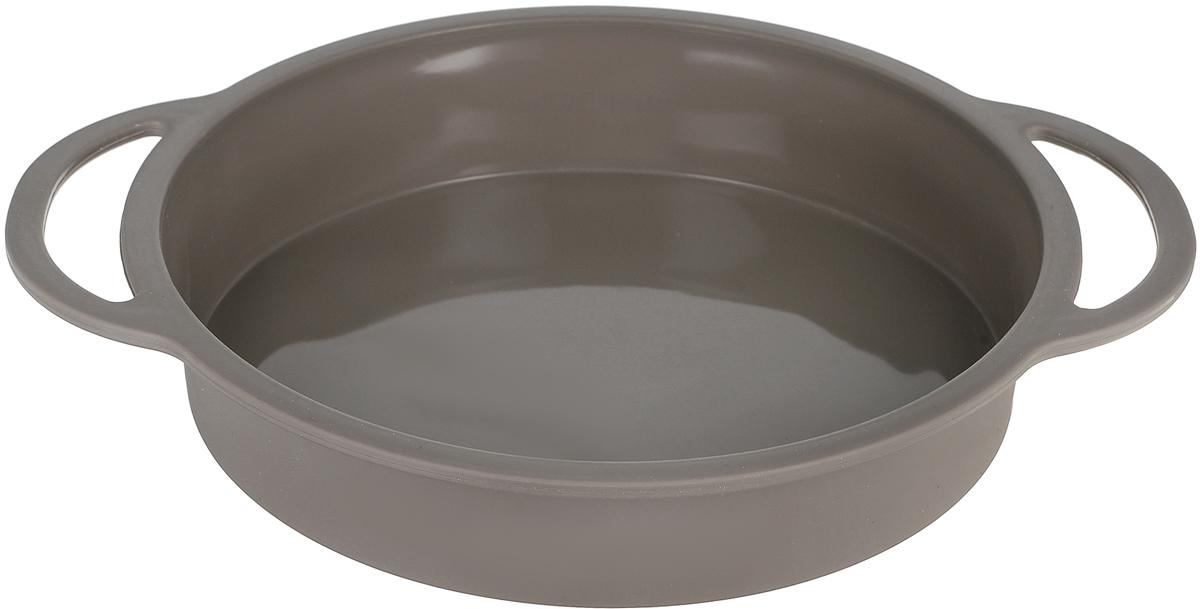 Форма для торта Dosh Home Gemini, диаметр 25 см300302Форма для торта Dosh Home Gemini отлично подходит для приготовления сладких и соленых блюд. Форма предотвращает пригорание, поэтому по окончании выпекания продукт легко вынимается из формы. Форма изготовлена из термостойкого силикона высокого качества, устойчивого до 180 °С. Форму легко чистить, она не занимает много места. Форма подходит для приготовления пищи в газовых, электрических, конвекционных и микроволновых печах, но нельзя ставить форму на открытый огонь или раскаленную конфорку. Подходит для мытья в посудомоечной машине.Диаметр формы без учета ручек: 25 смВысота стенки: 4,5 см.