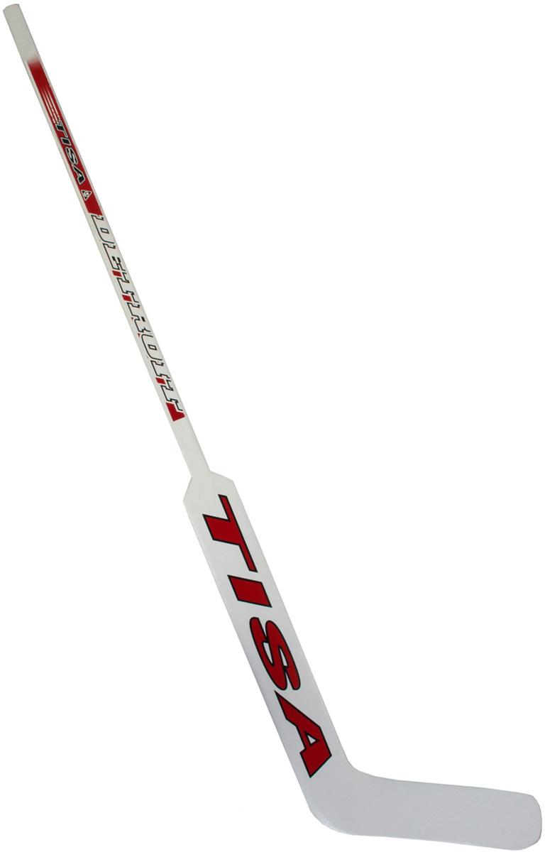 Клюшка вратарская Tisa Detroit JR, загиб R деревянные лыжи tisa 90515 top universal 187