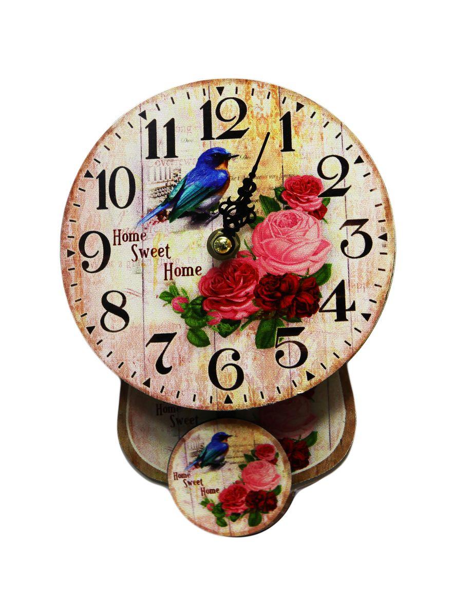 Часы настенные Arte Nuevo, 14 х 18,5 х 4 см14AL14008Часы настенные Arte Nuevo станут изюминкой в дизайне интерьера вашегодома. Часы имеют две стрелки - часовую и минутную. Часовой механизм сзадизакрыт пластиковым корпусом. Предусмотрено отверстие для крепления настену.
