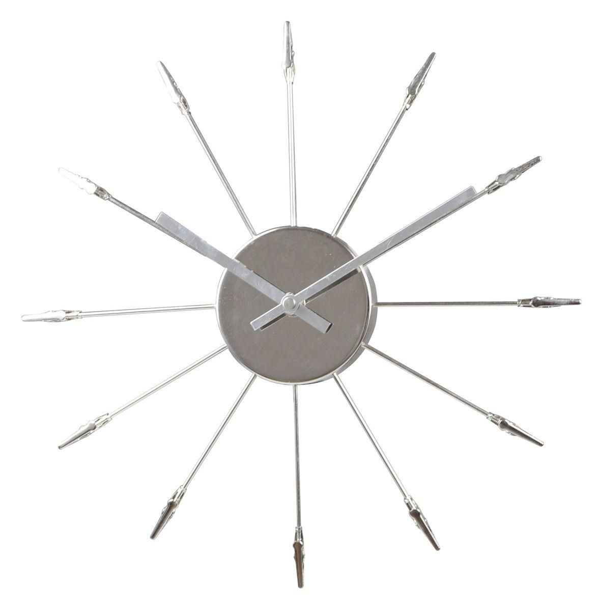 Часы настенные Arte Nuevo. EG7122EG7122Часы настенные Arte Nuevo станут изюминкой в дизайне интерьера вашегодома. Часы имеют две стрелки - часовую и минутную. Часовой механизм сзадизакрыт пластиковым корпусом. Предусмотрено отверстие для крепления настену.