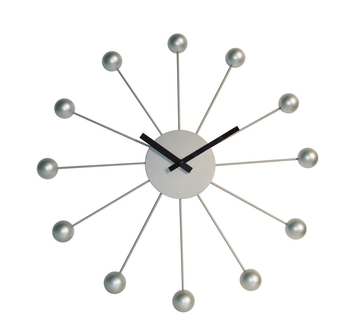Часы настенные Arte Nuevo, диаметр 40 смEG7029AЧасы настенные Arte Nuevo станут изюминкой в дизайне интерьера вашегодома. Часы имеют две стрелки - часовую и минутную. Часовой механизм сзадизакрыт пластиковым корпусом. Предусмотрено отверстие для крепления настену. Диаметр часов: 40 см.