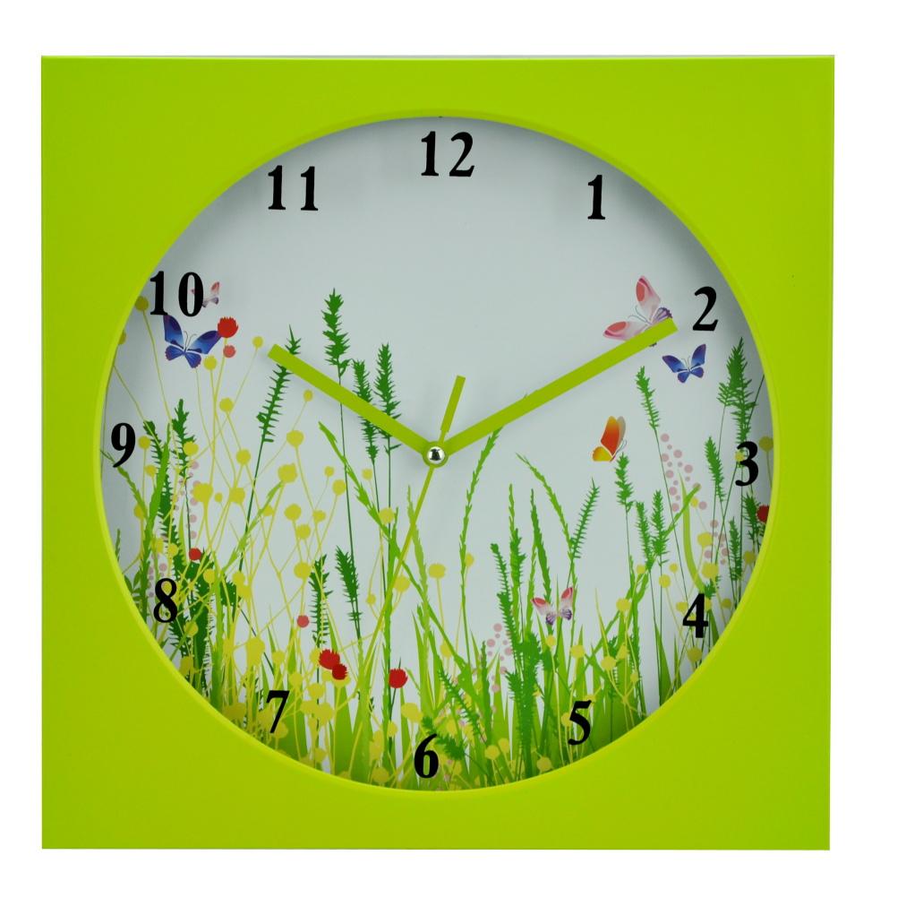 Будильник Arte Nuevo, 14 см. EG6082-HF126EG6082-HF126Яркий будильник Arte Nuevo - одна из тех деталей, которые придают дому обжитой вид и создают ощущение уюта. Циферблат имеет минутную, часовую и секундную стрелки.Часы работают от батарейки типа АА (не входит в комплект).