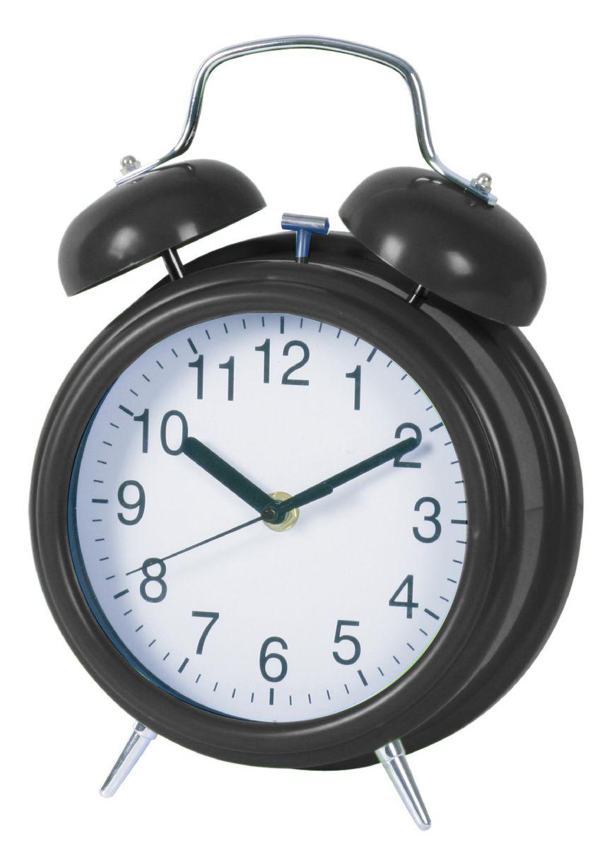 Будильник Arte Nuevo, диаметр 27 см. EG7003MPEG7003MPБудильник Arte Nuevo - одна из тех деталей, которые придают дому обжитой вид и создают ощущение уюта. Корпус изделия выполнен из высококачественного металла. Циферблат имеет секундную, минутную и часовую стрелки. Сверху будильника расположено 2 звоночка. Основание дополнено ножками.Часы работают от 1 батарейки типа АА (не входят в комплект). Диаметр циферблата: 27 см.