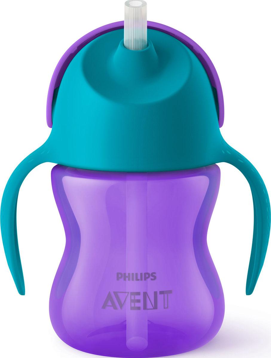 Philips Avent Чашка-поильник 200 мл SCF796/02 чашка с трубочкой philips avent scf762 00 с 18 мес 340 мл в ассортименте