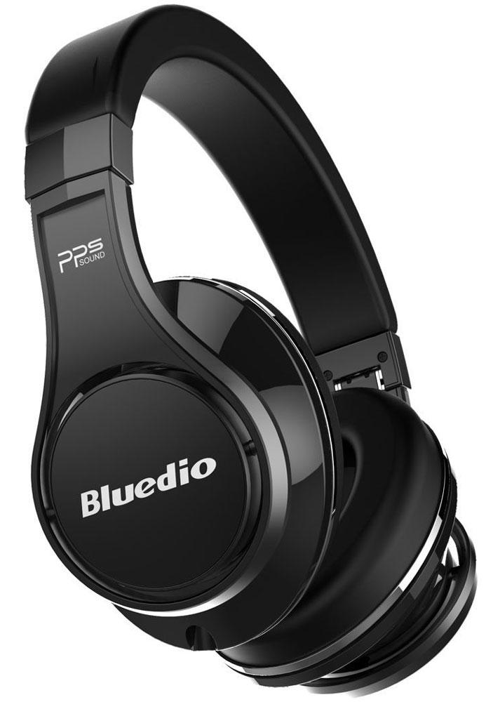 Bluedio UFO U, Black беспроводные наушникиUFO U blackBluedio UFO U - это беспроводные наушники накладного типа с микрофоном. В модели используется эксклюзивная технология PPS8, в основе которой лежит использование сразу 8 излучателей. Наушники можно подключать к мобильным устройствам благодаря технологии Bluetooth 4.1. Гарнитура работает от встроенного аккумулятора, которого хватит на целые сутки прослушивания музыки. Удобное широкое оголовье можно регулировать, а складная конструкция позволяет хранить или перевозить наушники в чехле. При желании их можно подключить к источнику аудио с помощью комплектного кабеля с разъемом 3.5 мм. Управление функциями осуществляется с помощью кнопок, расположенных на правой чашке наушников.3D-технология звука PPS8Диаметр динамиков: 2 х 50 мм, 6 х 20 мм (в одном наушнике)Время зарядки аккумулятора: 3 часа