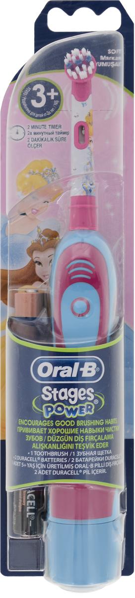 Детская зубная щетка Oral-B DB4 на батарейках84850536Oral-B – марка зубных щеток №1, используемая большинством стоматологов мира!* * на основании международных опросов P&G среди репрезентативной выборки стоматологов, проводимых регулярно, в т.ч. 2013-2015 гг. Зубная щетка на батарейках - самая доступная из зубных щеток Oral-B с возвратно-вращательной технологией. Подходит для детей с 3 лет. Комплектуется сменной насадкой Oral-B Stages с укороченными экстрамягкими щетинками.Электрические зубные щетки. Статья OZON Гид