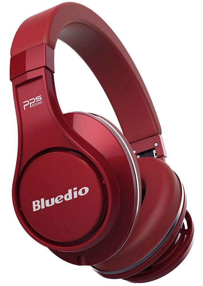 Bluedio UFO U, Red беспроводные наушникиUFO U redBluedio UFO U - это беспроводные наушники накладного типа с микрофоном. В модели используется эксклюзивная технология PPS8, в основе которой лежит использование сразу 8 излучателей. Наушники можно подключать к мобильным устройствам благодаря технологии Bluetooth 4.1. Гарнитура работает от встроенного аккумулятора, которого хватит на целые сутки прослушивания музыки. Удобное широкое оголовье можно регулировать, а складная конструкция позволяет хранить или перевозить наушники в чехле. При желании их можно подключить к источнику аудио с помощью комплектного кабеля с разъемом 3.5 мм. Управление функциями осуществляется с помощью кнопок, расположенных на правой чашке наушников.3D-технология звука PPS8Диаметр динамиков: 2 х 50 мм, 6 х 20 мм (в одном наушнике)Время зарядки аккумулятора: 3 часа