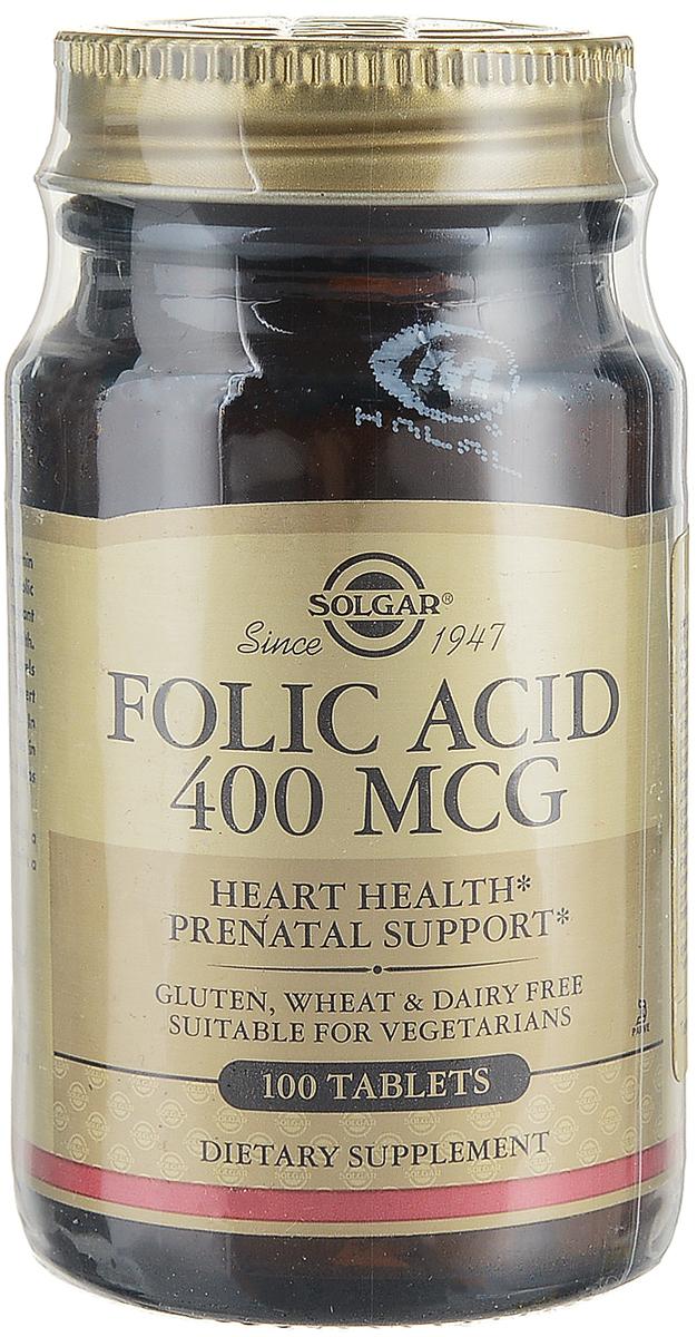 Солгар Фолиевая кислота, 100 таблеток203841Таблетки Фолиевая кислота рекомендуются в качестве биологически активной добавки к пище - дополнительного источника фолиевой кислоты.Фолиевая кислота участвует во многих процессах, происходящих в организме. Принимать фолиевую кислоту необходимо в первую очередь женщинам на этапе планирования беременности и в первом триместр с целью профилактики дефектов развития нервной трубки у плода. Сфера применения: Витаминология;Фолиевая кислота. Подходит для вегетарианцев.Товар сертифицирован.