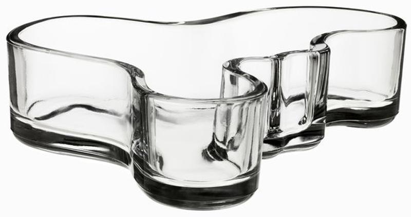 Ваза Iittala Vitriini, цвет: прозрачный, 13,6 х 4 см1007172