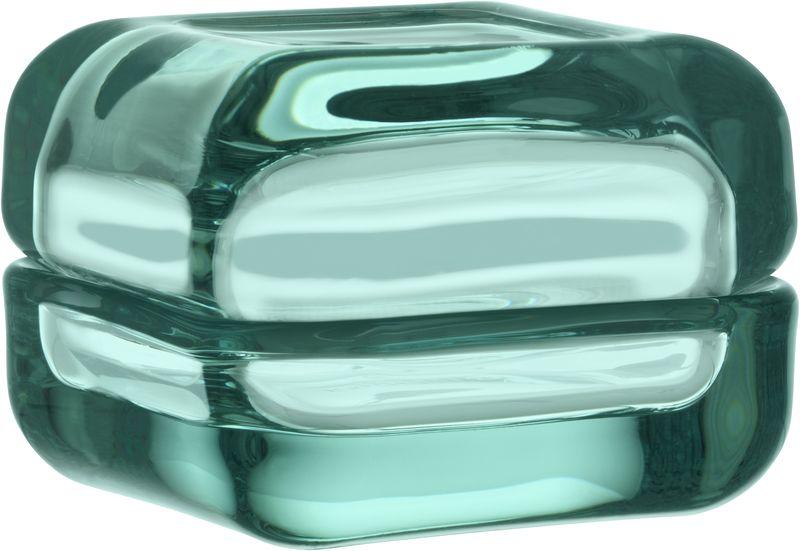 Ваза Iittala Vitriini, цвет: морская волна, 6 х 6 см1009094