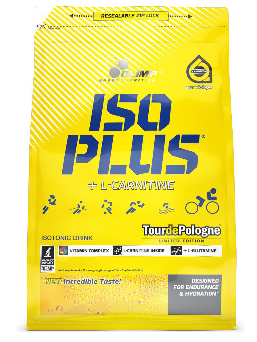Изотонический напиток Olimp Sport Nutrition Iso Plus Powder, тропик, 1505 г протеин olimp sport nutrition provit 80 ваниль 700 г