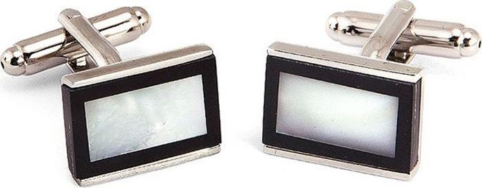 Запонки мужские Greg, цвет: серебристый. 156150