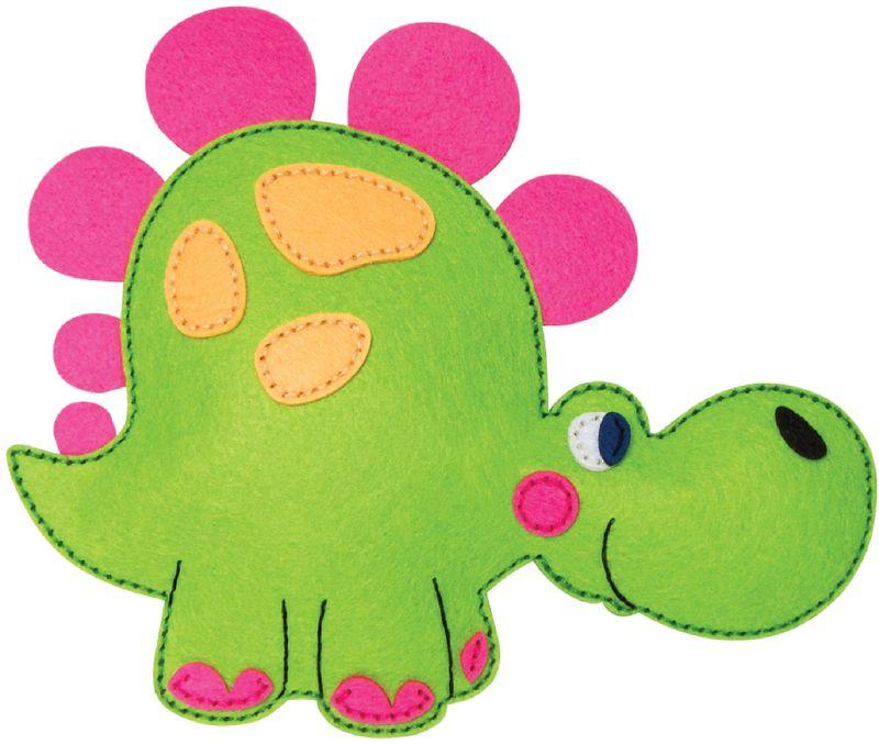 Feltrica Набор для изготовления игрушек Шьем из фетра Динозавр игрушки для детей