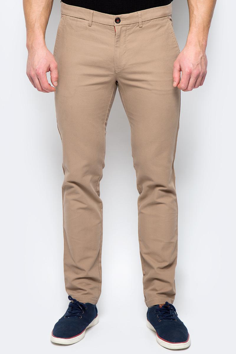 Брюки мужские United Colors of Benetton, цвет: бежевый. 4DD855BV8_901. Размер 50 брюки united colors of benetton брюки