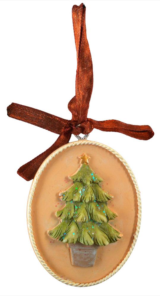 Украшение для интерьера новогоднее Erich Krause Елочка. Медальон, 5 см44221Украшение представляет собой объемную фигурку елочки, расположенную в центре плоского медальона. Изящная окантовка добавляет изделию благородство. Украшение выполнено из полирезины и оснащено красивой ленточкой для подвешивания. Новогодние украшения всегда несут в себе волшебство и красоту праздника. Создайте в своем доме атмосферу тепла, веселья и радости, украшая его всей семьей.