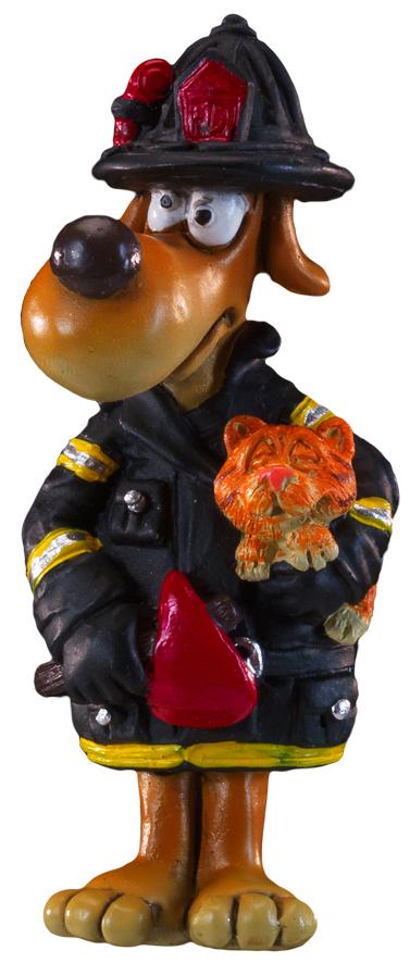 Сувенир новогодний Erich Krause Пожарный, на магните, 8,5 см43968Забавный магнит небольшого размера в виде собаки-пожарного станет милым и уместным презентом.Новогодние украшения всегда несут в себе волшебство и красоту праздника. Создайте в своем доме атмосферу тепла, веселья и радости, украшая его всей семьей.