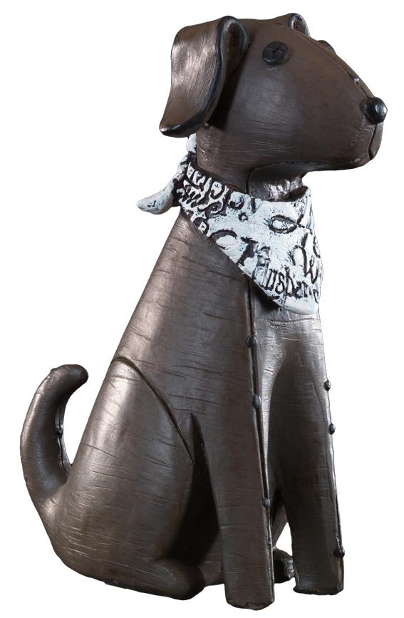 Сувенир новогодний Erich Krause Бультерьер коричневый, 15,5 см38623Год Собаки наступает в 2018 году. Фигурка бультерьера в платке с глазками-гвоздиками - очаровательный настольный сувенир. Новогодние украшения всегда несут в себе волшебство и красоту праздника. Создайте в своем доме атмосферу тепла, веселья и радости, украшая его всей семьей.