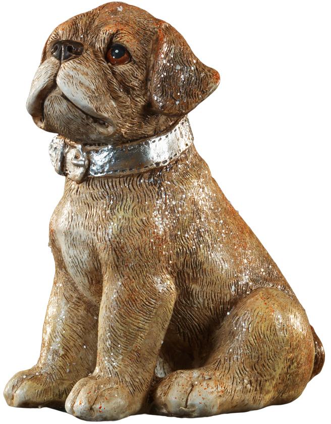 Сувенир новогодний Erich Krause Пес в ошейнике, 11 см43928Год Собаки наступает в 2018 году. Красивый щенок в ошейнике выполнен из полирезины и отличается качественной прорисовкой деталей.Новогодние украшения всегда несут в себе волшебство и красоту праздника. Создайте в своем доме атмосферу тепла, веселья и радости, украшая его всей семьей.