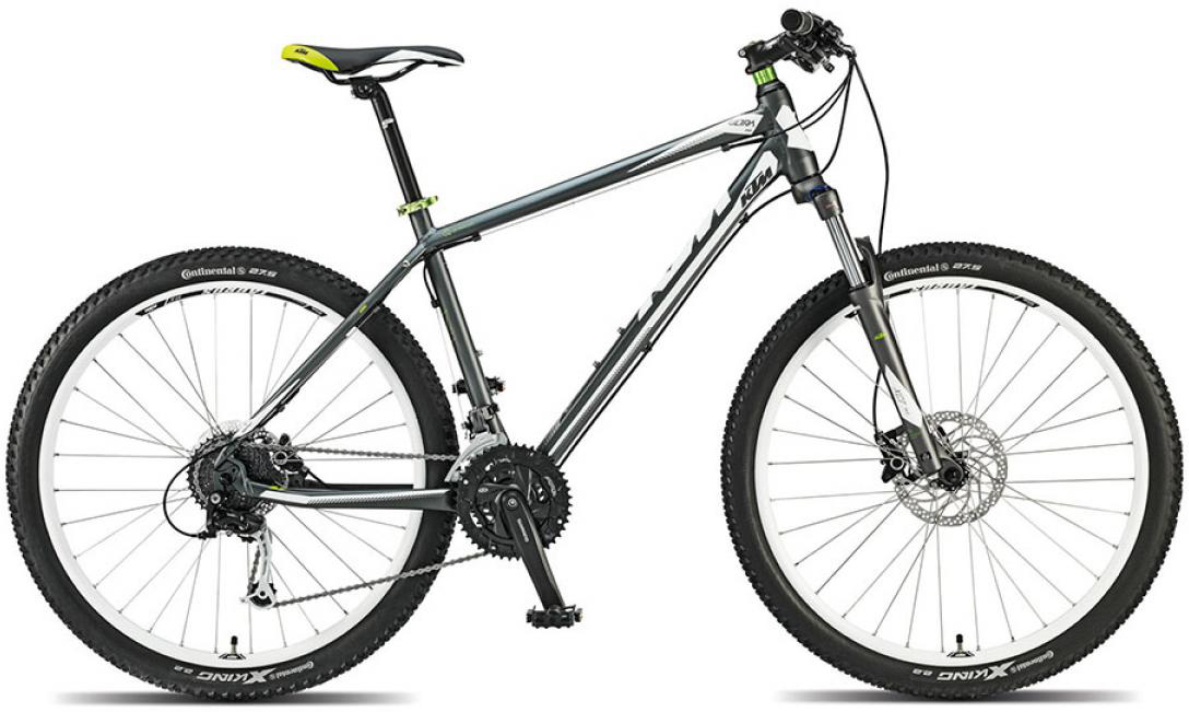 Велосипед горный KTM Ultra One 27 2015, цвет: серый, рама 21, колесо 27,5251527